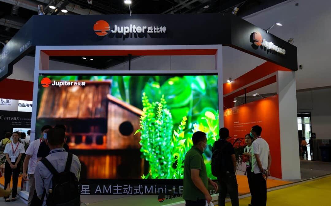 "Jupiter Wins ""Best of Show"" at InfoComm China 2021"